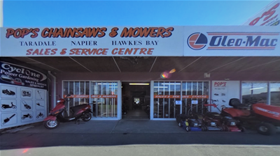 Pops Chainsaws Mowers Taradale_Shop Front.png