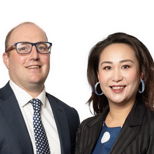 James Mullins and Lynette Li