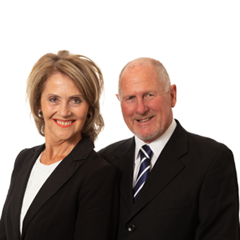 Murray Hewson and Jo Chamberlain