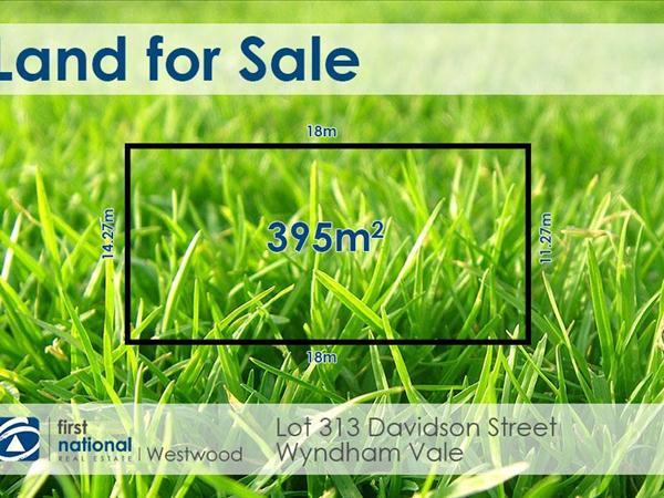 Lot 313/Davidson Street, Wyndham Vale