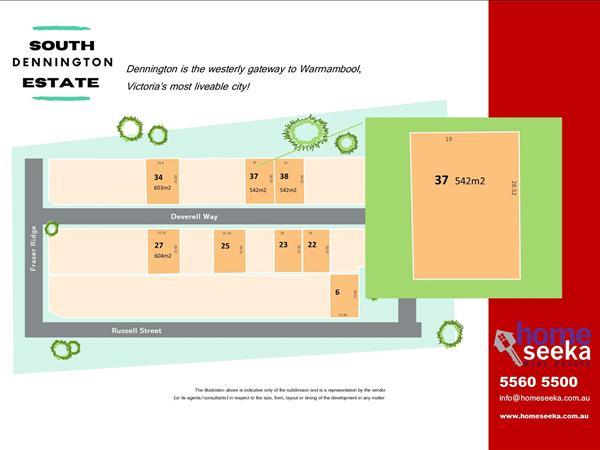 Lot 37 South Dennington Estate/13 Deverell Way, Warrnambool VIC